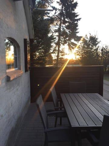 Ferielejlighed tæt på Fårup Sommerland og natur
