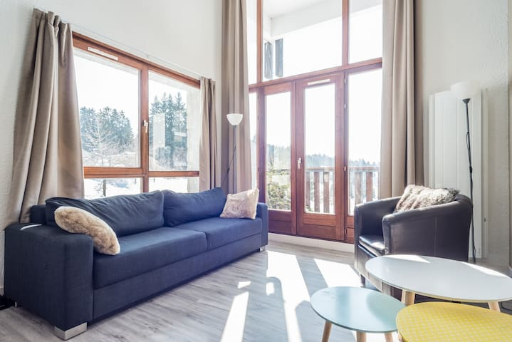 Amazing duplex - ski in ski out - Les Gets - Huoneisto