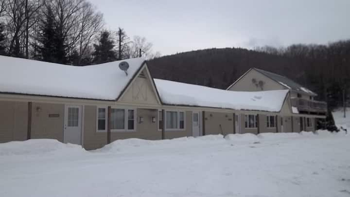 Tripletree 2 bedroom 1 level 1 1/4 mile to MT Snow