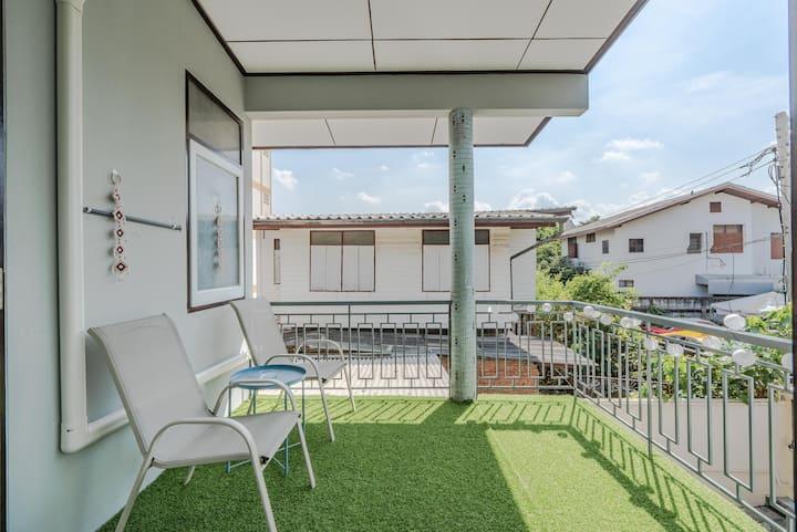 Charming Taopoon 🏡 4BR+Balcony ❤ MRT&Chatuchak