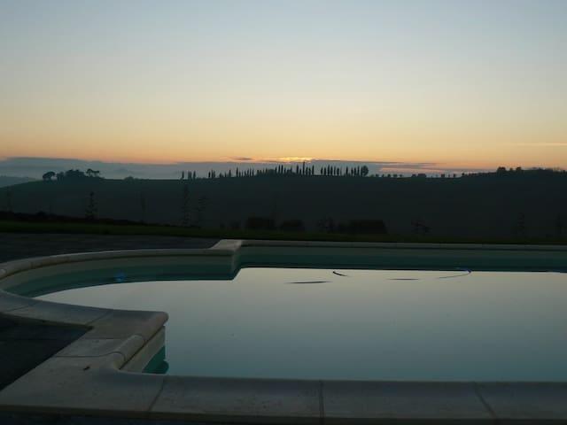 Villa Capezzine, Il Fienile - Cortona - Apartament