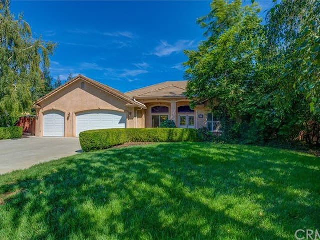 Beautiful home on 1 acre with pool.