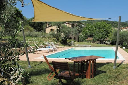 Villa with swimming pool, hills 25km from Florence - Haus