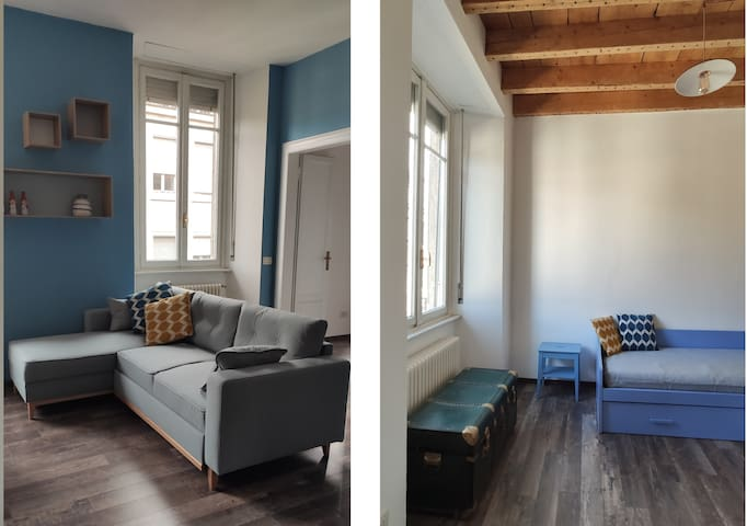 Living sofa and the 2nd bedroom