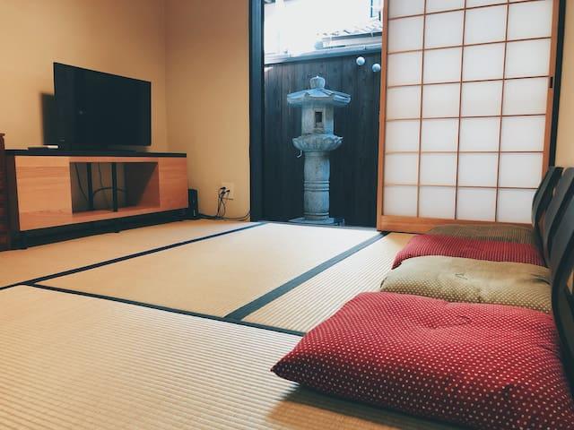 Kyoto Nijo  Machiya  8 mins walk to Nijo castle