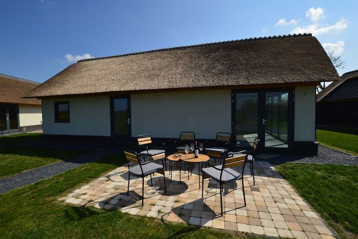 Pleasing Holiday Home in Alphen with Garden and Patio