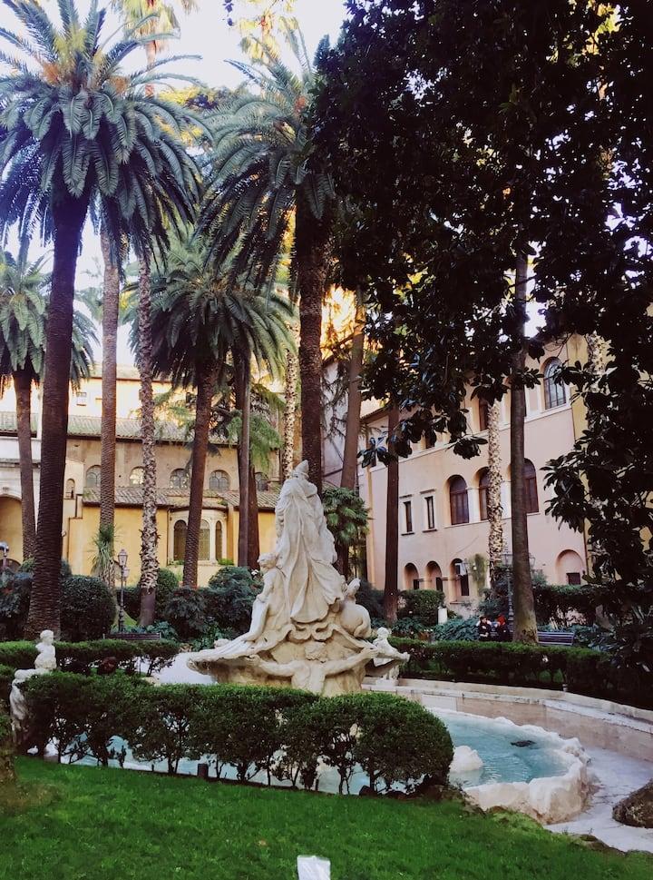 Секретные дворики в центре Рима