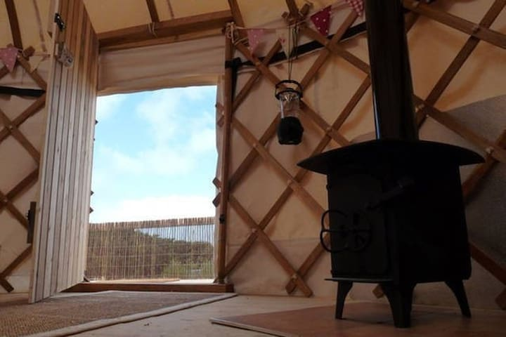 cosy wood burning stove for toasty nights