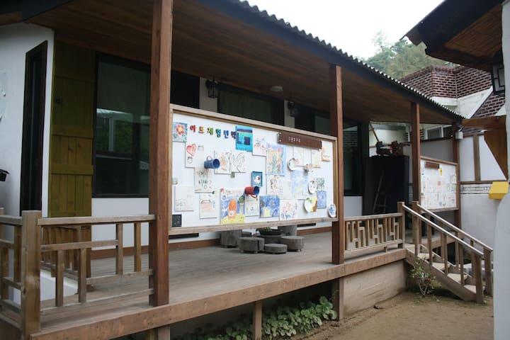 Daedam Art Center_Ginkgo Tree House