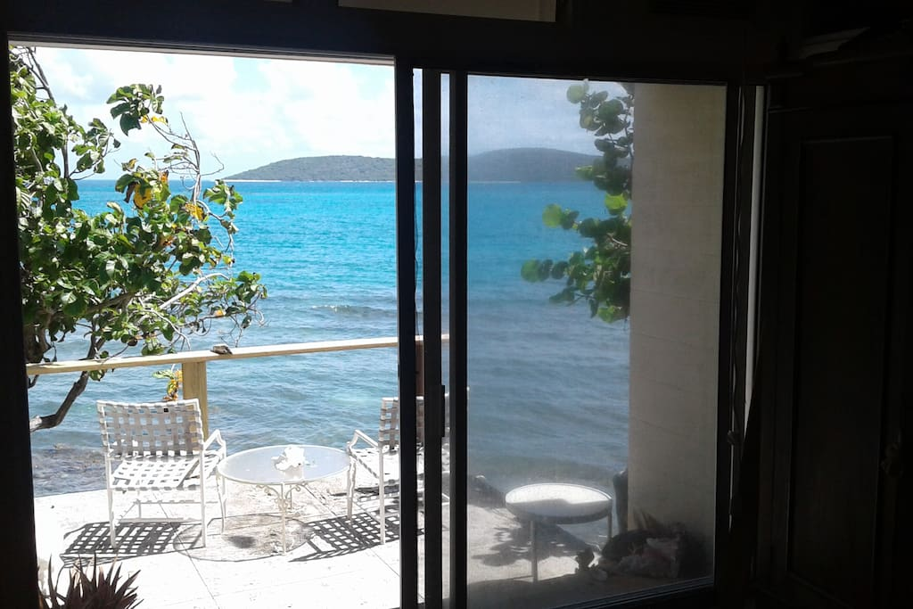 Wake up to this view. Fall asleep to the sound of the sea lapping on the shore line.
