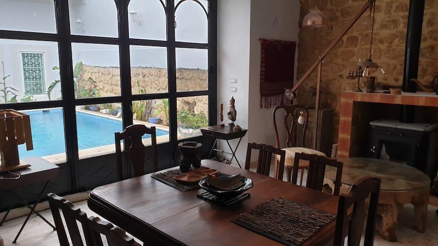 Maison de charme style arabesque