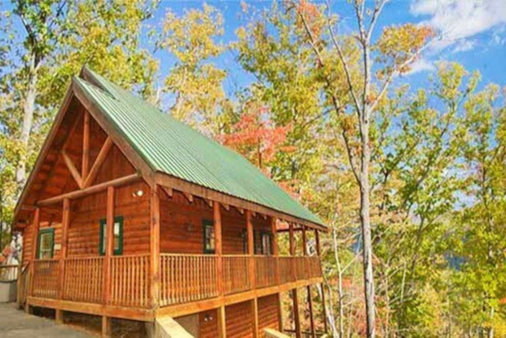 Major Oak Luxury Cabin 4 King Beds Houses For Rent In