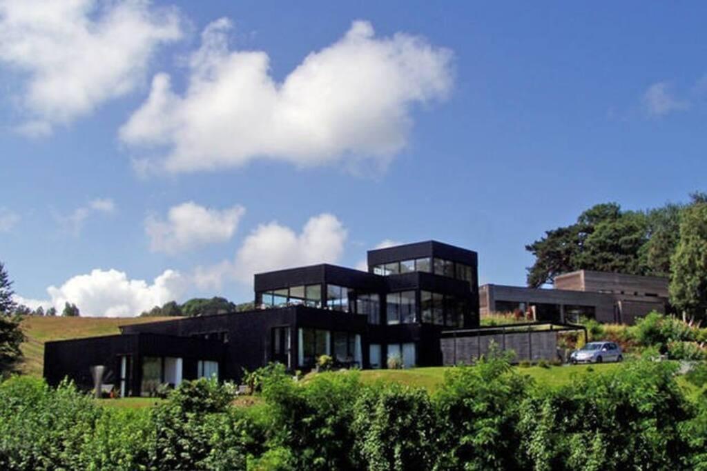 La Villa Quartz vue du Nord.