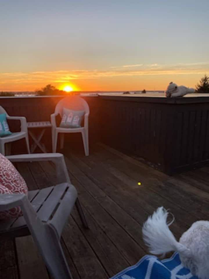 Classic Newport Vacation with beautiful roof deck!