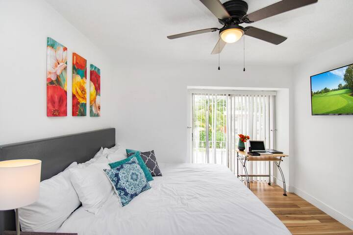 Modern Townhome | King Bed | MIA&Downtown 10 mins