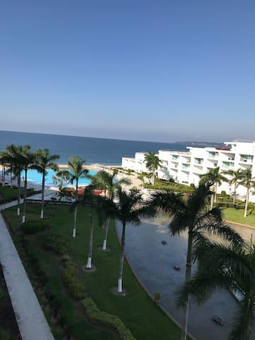 Hermoso departamento frente al mar - Nuevo Vallarta