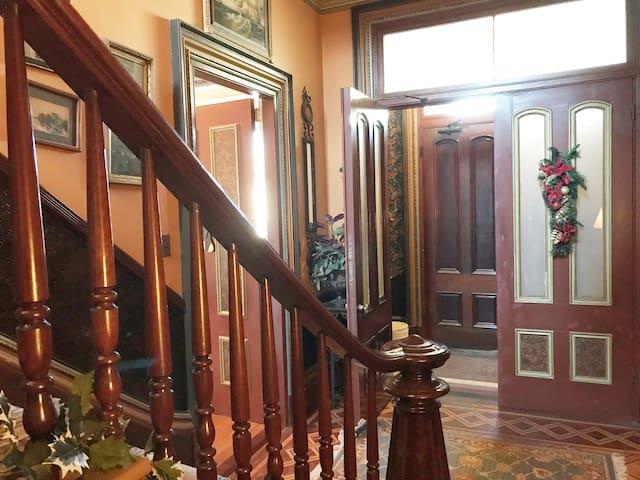 apartment #2 entry