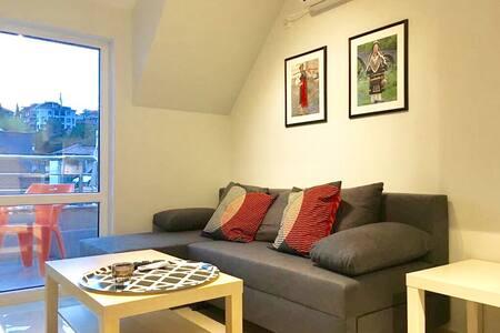Luxury apartment on pedestrian street w/3 terraces
