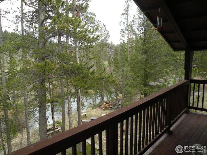 Escape to River Song Refuge~ N. Fork Poudre River!