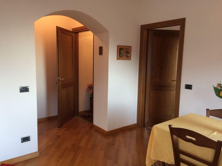 Doorway from inside
