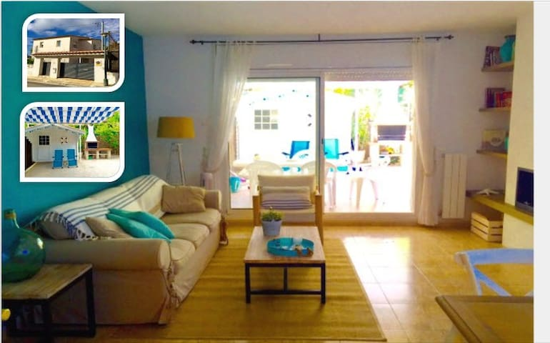 Charming house near beach very equipped with WIFI - Creixell - Huis