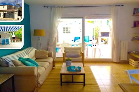 Charming house near beach very equipped with WIFI - Creixell