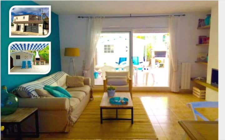 Charming house near beach very equipped with WIFI