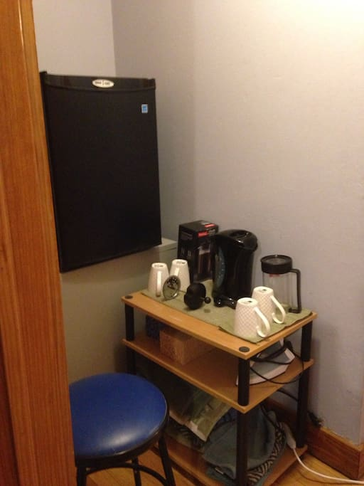 Coffee and Tea Nook