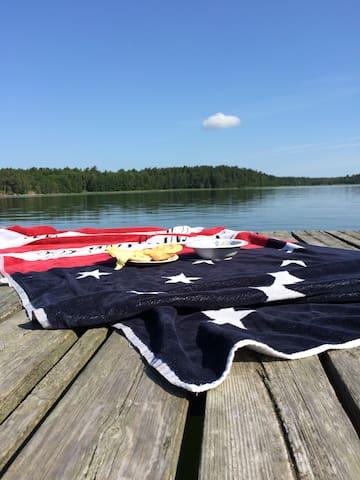 Skärgårdshus på mysig ö - Löparö - Huis
