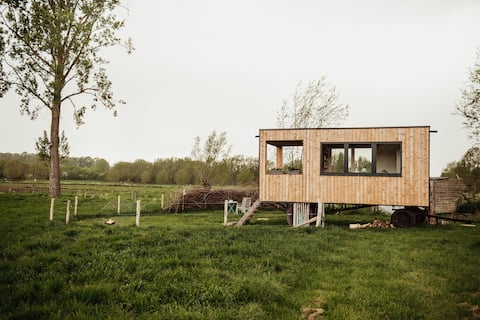 Tiny Farm Nokere aan de voet v/d Vlaamse Ardennen