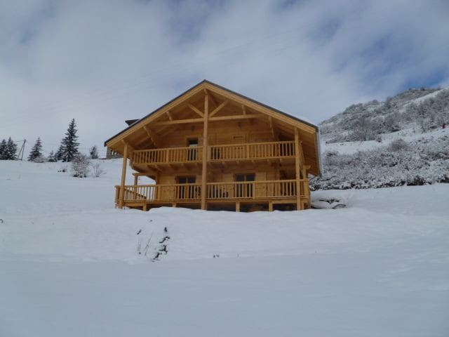 "CHALET DES SOURCES "" appartement ""LE MELEZE"" - Saint-Paul-sur-Ubaye - Chalé"
