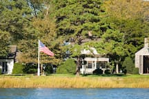 View of property from Upper Sag Harbor Cove