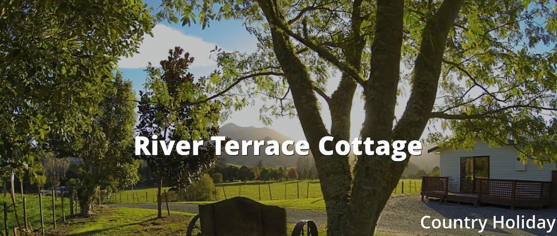 River terrace cottage