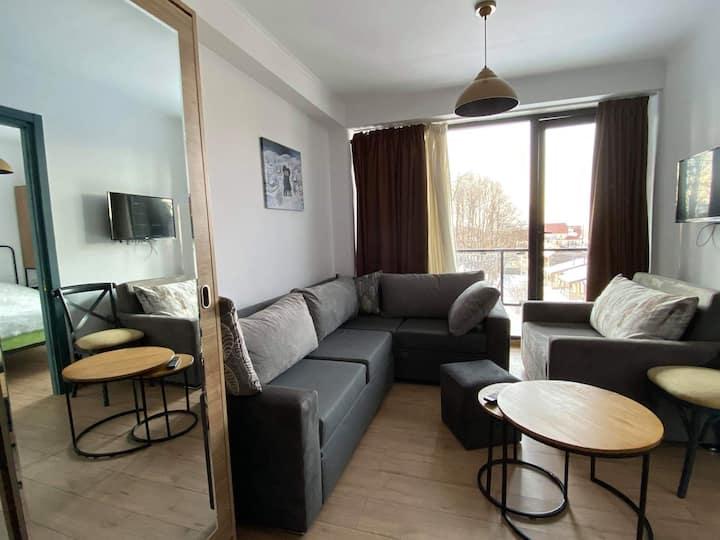 Hotel room in Bakuriani Mgzavrebi