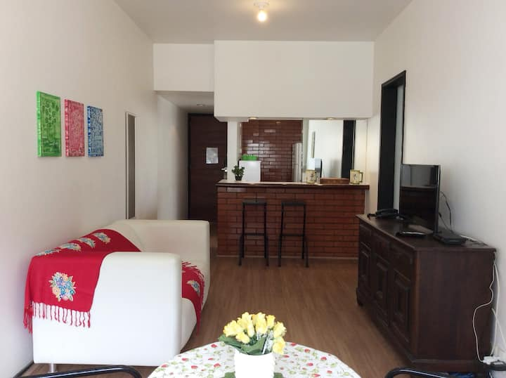 Copacabana  great flat with services