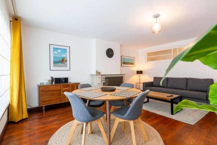 Vintage appartement in het hart van Oostende