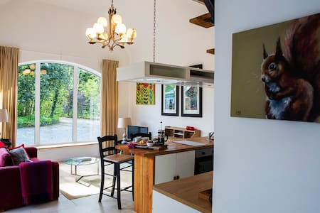 Escape to Galway Countryside with woods close by.
