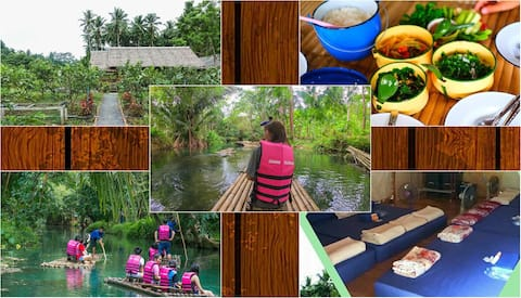 Baanwanghon Rafing Tour/BambooHut