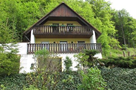 Ferienwohnung im Herzen der Fränkischen Schweiz - Gehele Verdieping