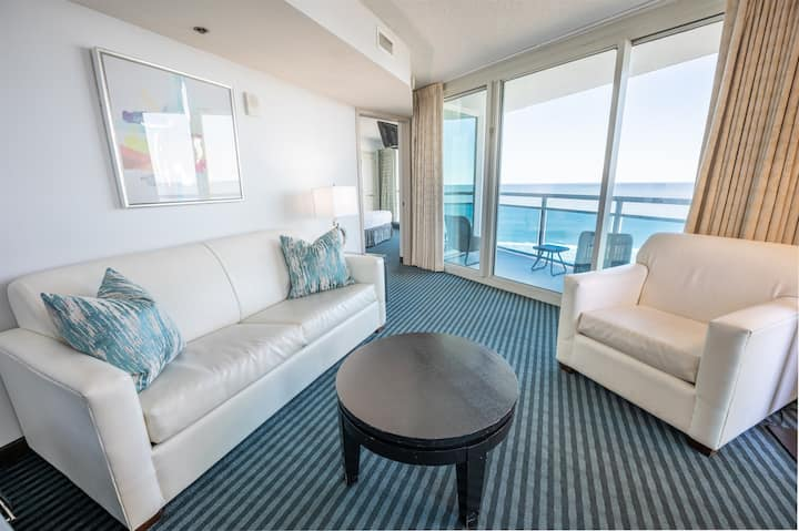 ⭐Direct Ocean & City Views, Corner Suite, Glass!