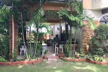 Veranda for for eating outside with friends or have BBQ