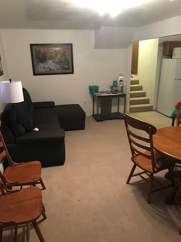 1 bedroom apartment in town