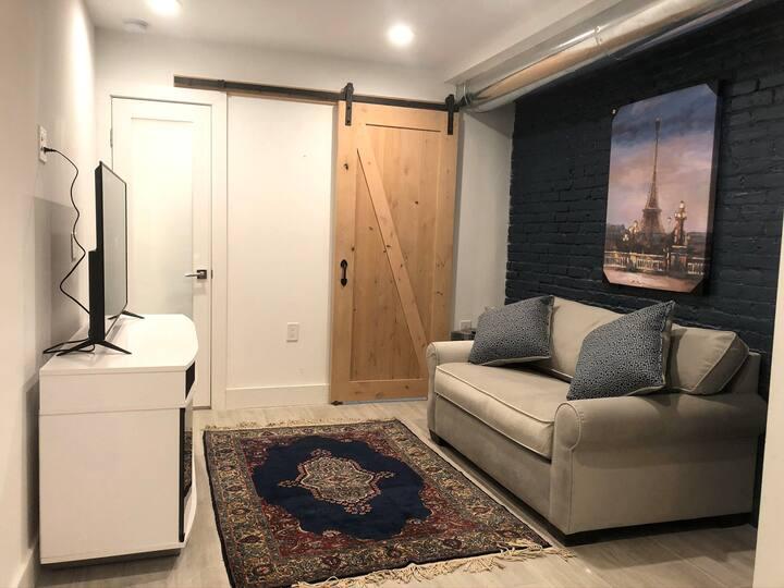 English basement 2 room suite