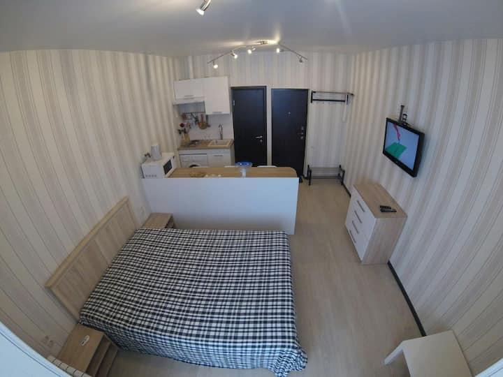 Coral House 2. Квартира-студия посуточно, у моря.
