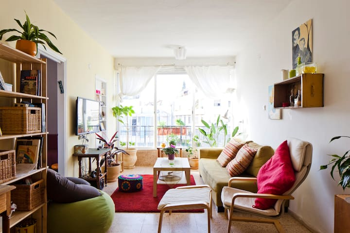 Sunny, Colorful & Cozy Apt near Jaffa flea market - Tel Aviv-Yafo - Appartement