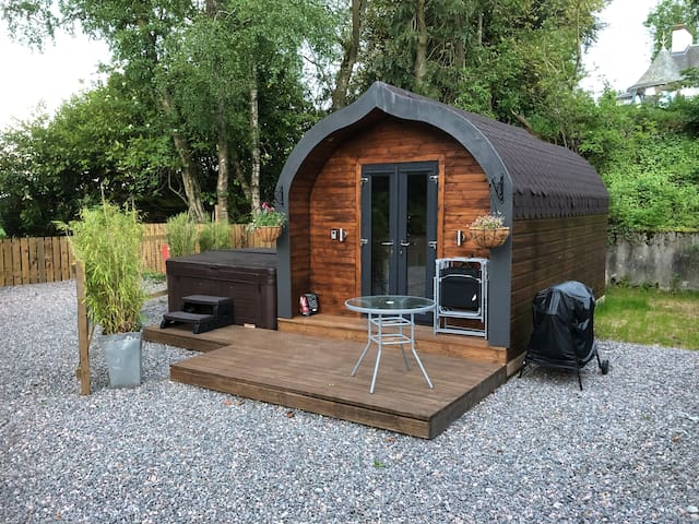 **NEW** Go Hot Tub Glamping minutes from Inverness