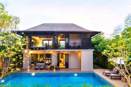 Villa  3  Three Bed Rooms 10 Min.Walk to Beach - Tambon Choeng Thale