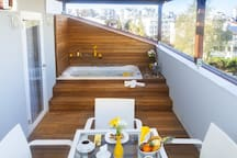 Terrace Suite with Hottub