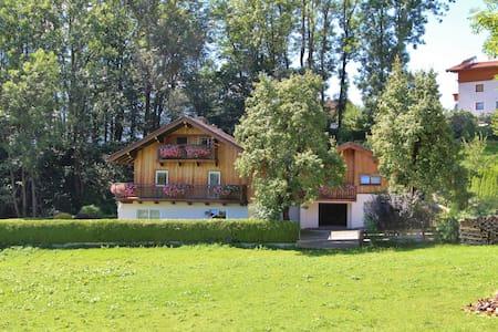Maison de vacances unique proche Piesendorf. Terrasse privée