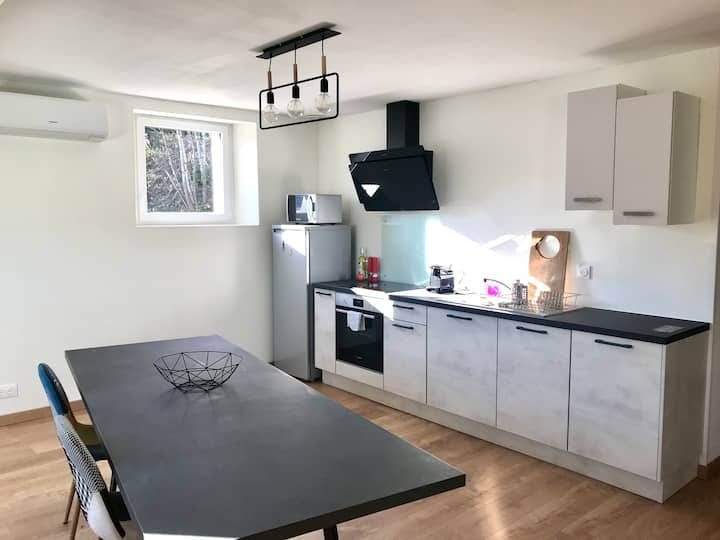 Appartement au coeur du Finistère